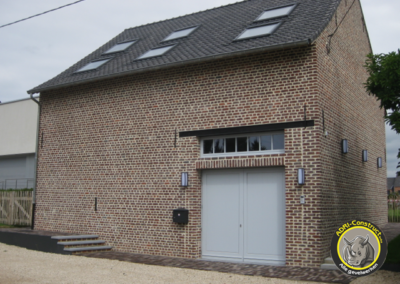 Renovation du façade Dilbeek